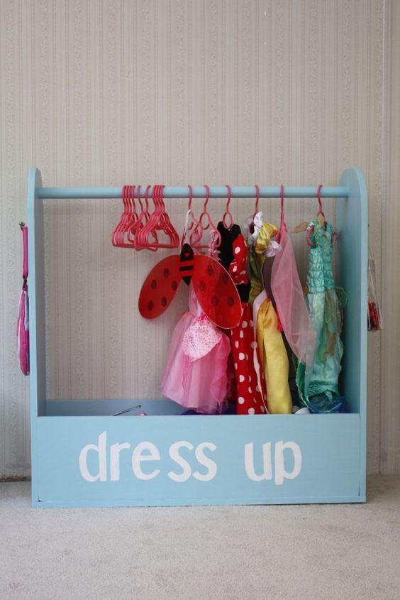 12 ideas que te Ayudarán a Organizar el Cuarto de una Niña