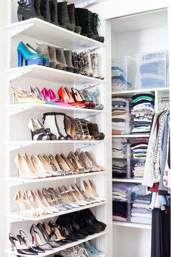 Ideas para organizar zapatos