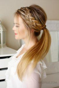 Maneras diferentes e increíbles de llevar una trenza si tienes el cabello largo