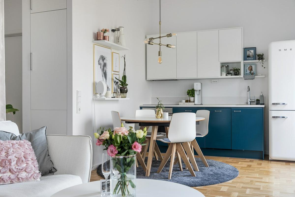 Materiales y colores para decoración de interiores