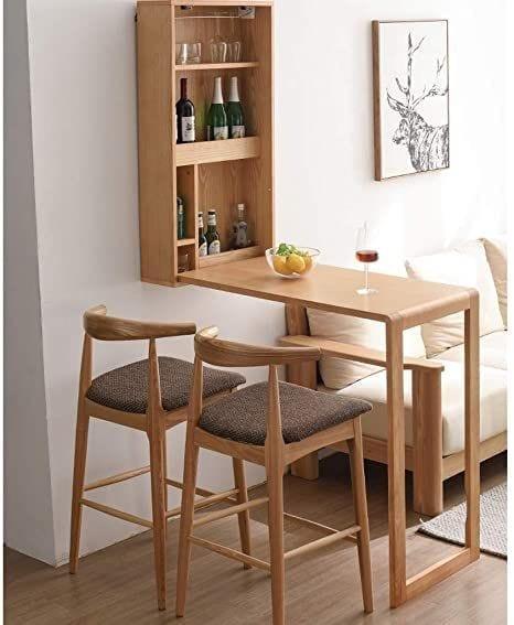 Muebles abatibles para cocinas pequeñas