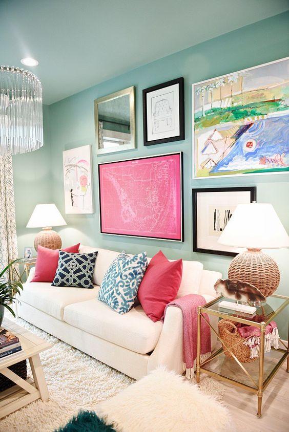 Mira como agregar el color rosa a la decoración de tu casa