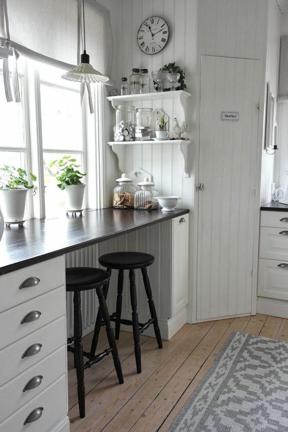 Opciones para almacenaje en cocinas pequeñas