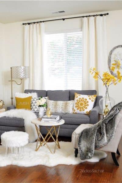 Iluminación para salas pequeñas modernas y elegantes