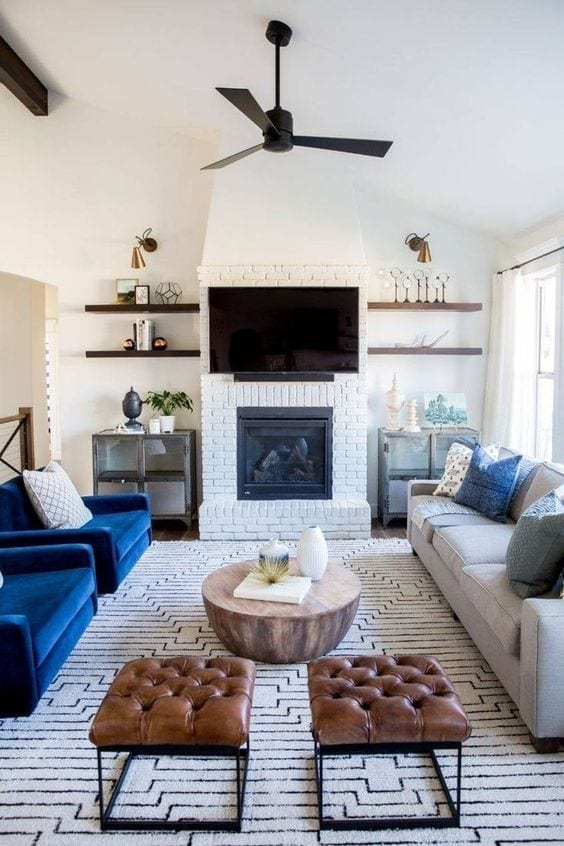 Muebles para salas pequeñas modernas