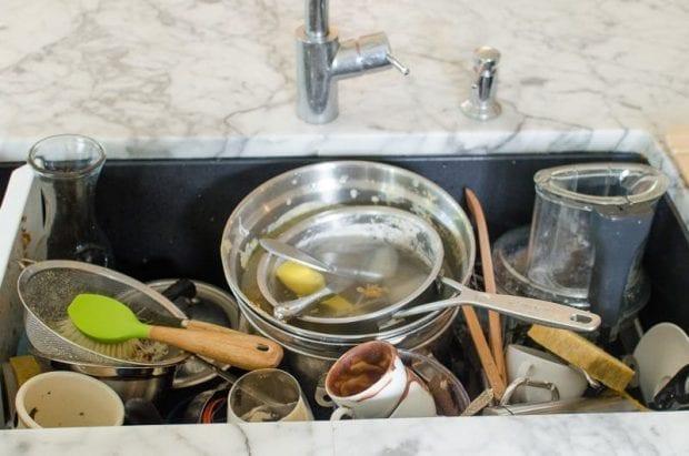 Cómo evitar conglomeración de platos