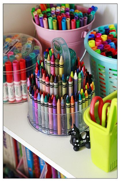 Organizar útiles escolares