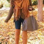 Outfits con tonos camel ideales para otoño 2017