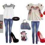 Outfits para fiestas patrias