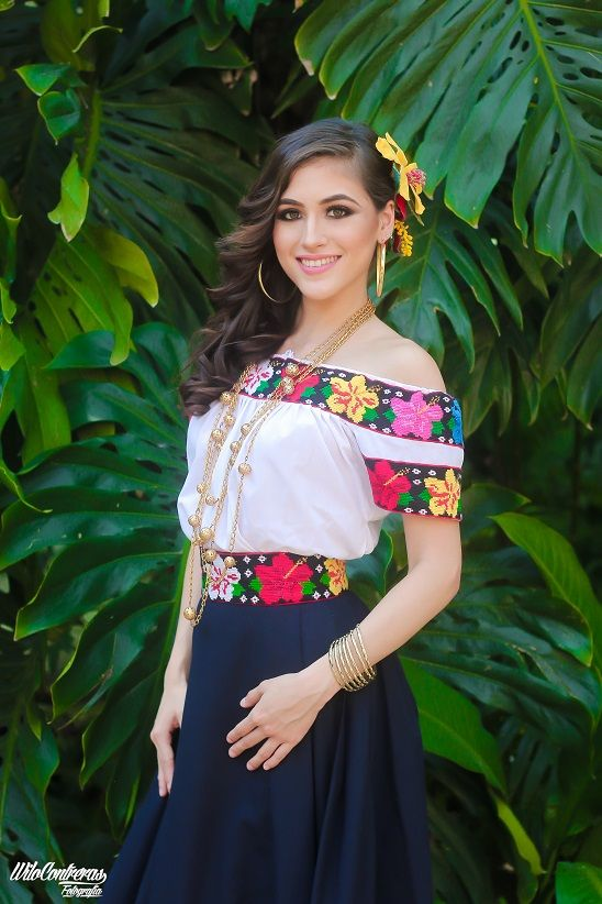 outstanding outfit vestido mexicano con