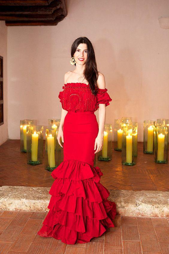Vestidos elegantes para fiestas patrias