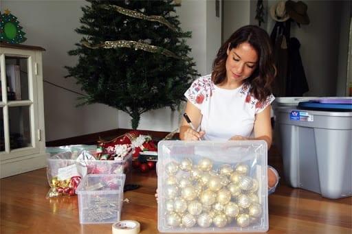 Cómo limpiar y guardar el árbol de Navidad hasta el año que viene