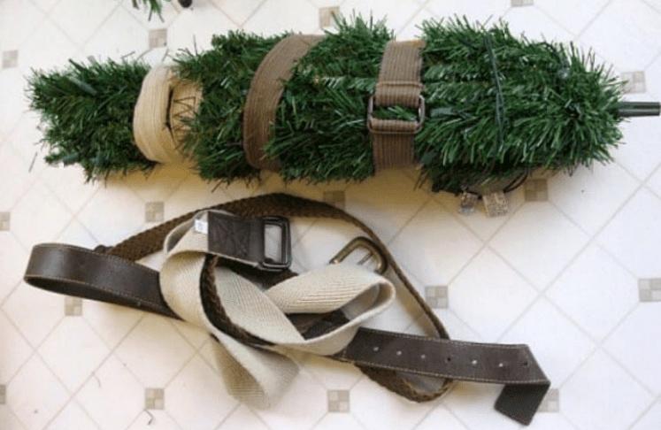 Plegar el árbol de navidad