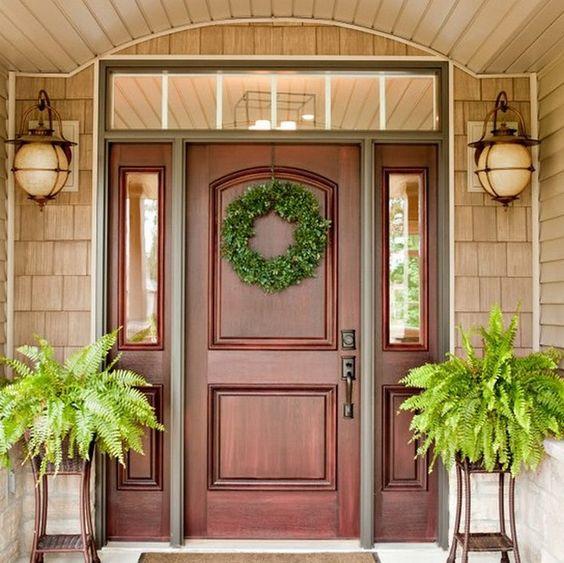 Puertas para el frente de tu casa 23 curso de for Puertas para frente de casa de madera