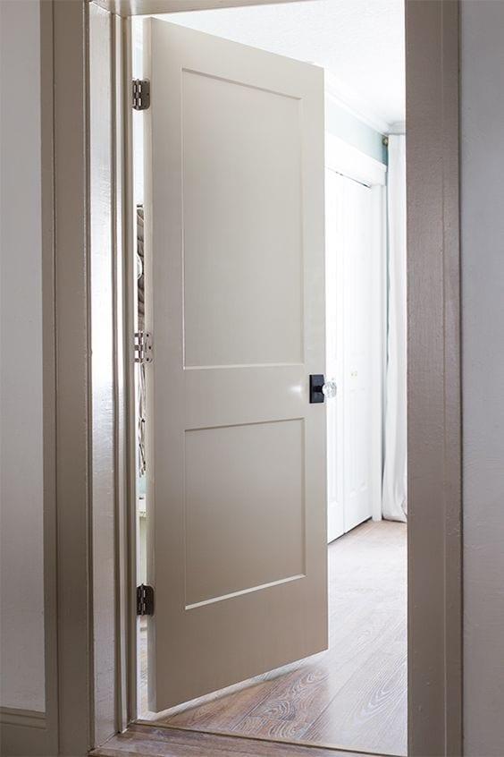 ¿Qué material elegir para las puertas interiores?