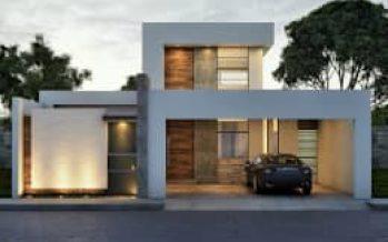 Renders y fotos de fachadas modernas