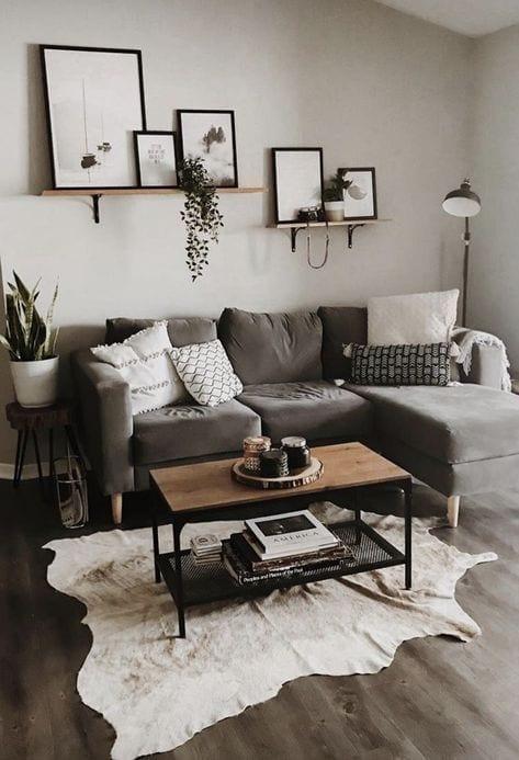 Repisas para organizar y decorar tu sala