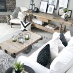 Salas de estar estilo rustico