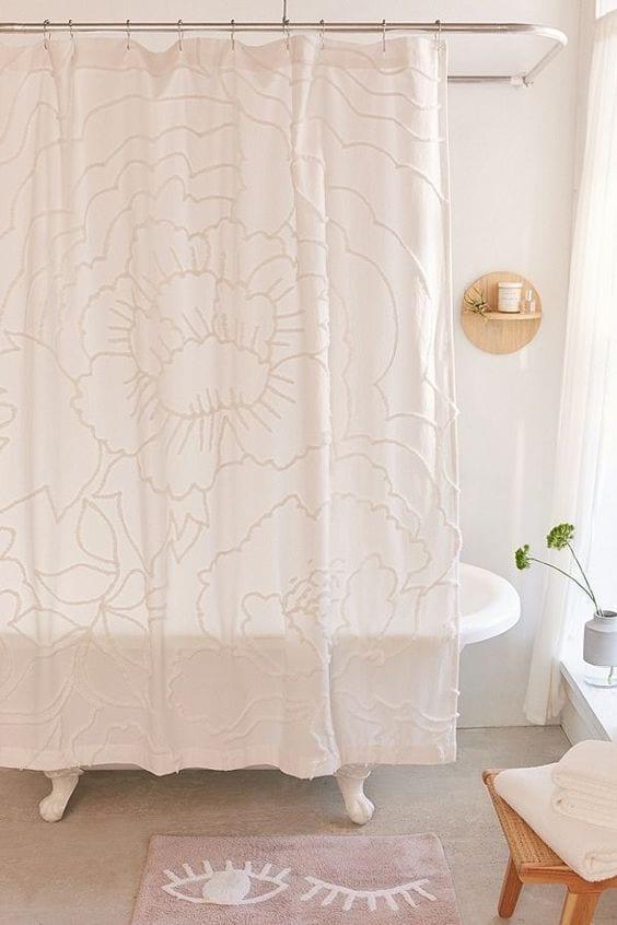 Textiles para baños pequeños y modernos