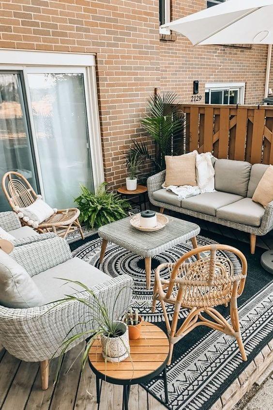 Tipos de muebles para exterior