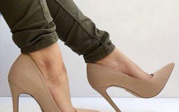 ¡Zapatillas Nude!
