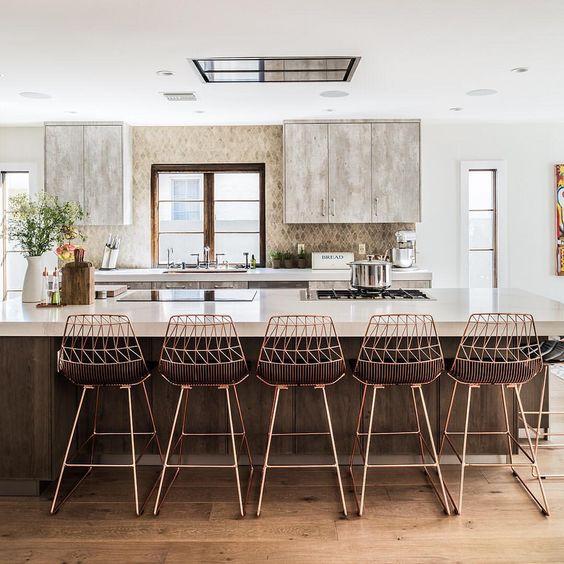 25 desayunadores modernos que te inspiraran decorar tu for Desayunadores modernos