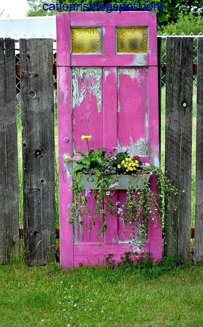 Añade Puertas Viejas a la Decoración de Tu Hogar: ¡Lucen Fantásticas!