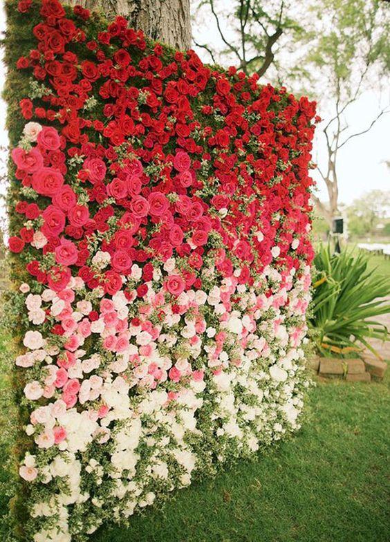 A ade un jard n vertical a tus paredes con mucho color y - Jardines con estilo ...