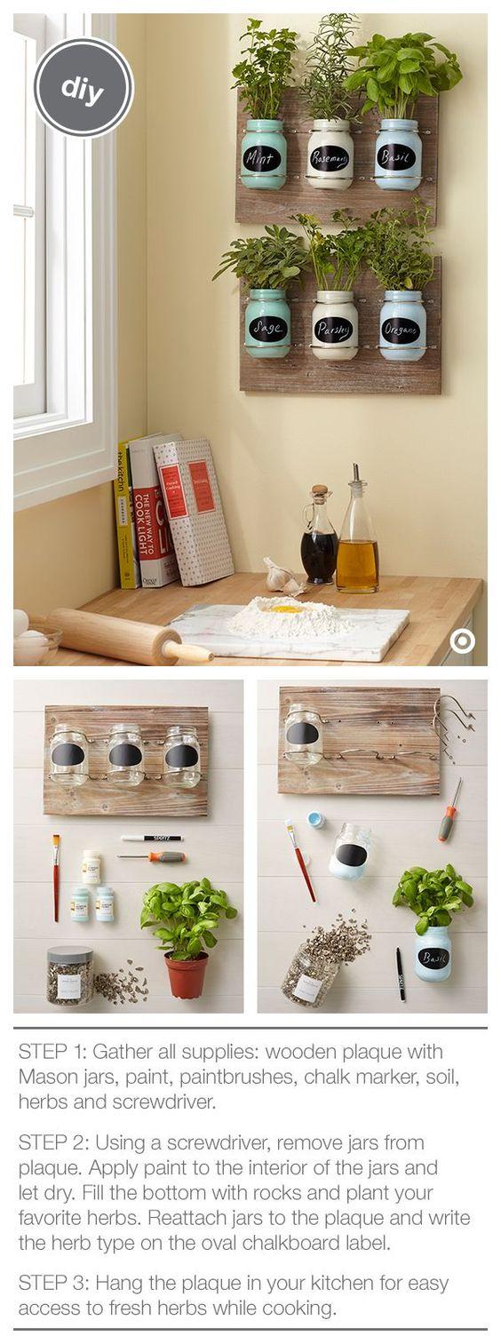 Huerto en casa con maceteros reciclados peque os y - Pequeno huerto en casa ...