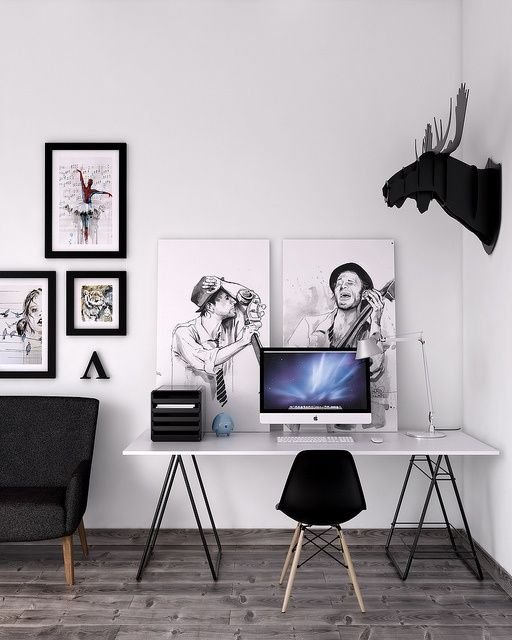 Ideas para decorar Oficinas para hombre
