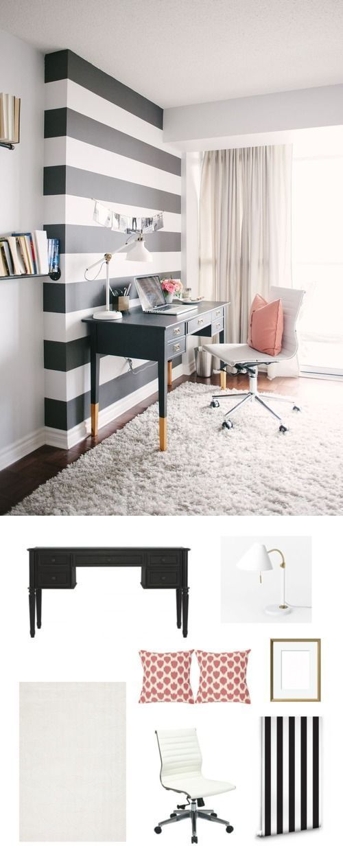 Ideas creativas para decorar tu oficina en casa 2019 2020 - Decorar oficina en casa ...