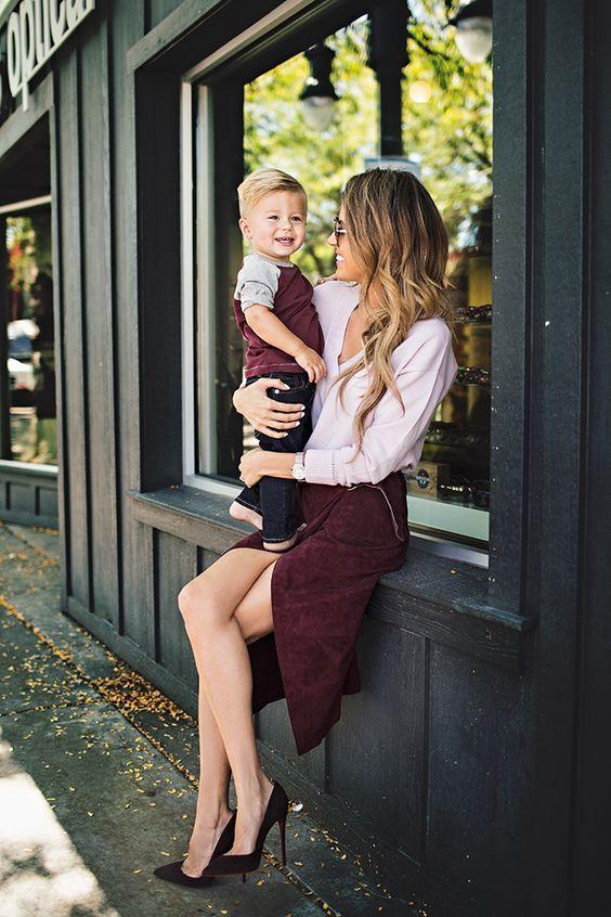 Ideas de outfits para mamás con mucho estilo