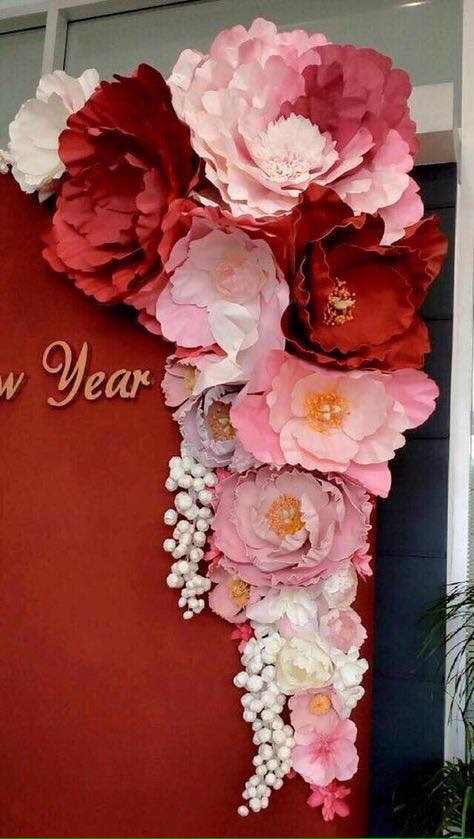 ¡Ideas para Decorar con Flores de Papel!