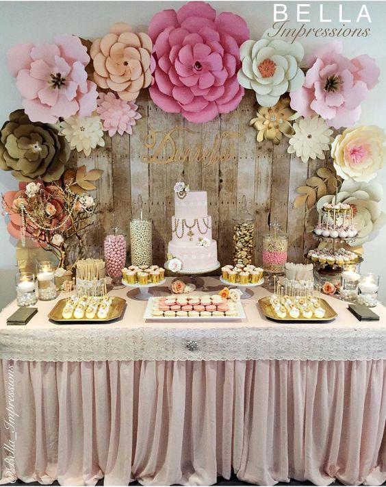 Ideas para decorar con flores de papel curso de organizacion del hogar y decoracion de - Decorar con papel ...
