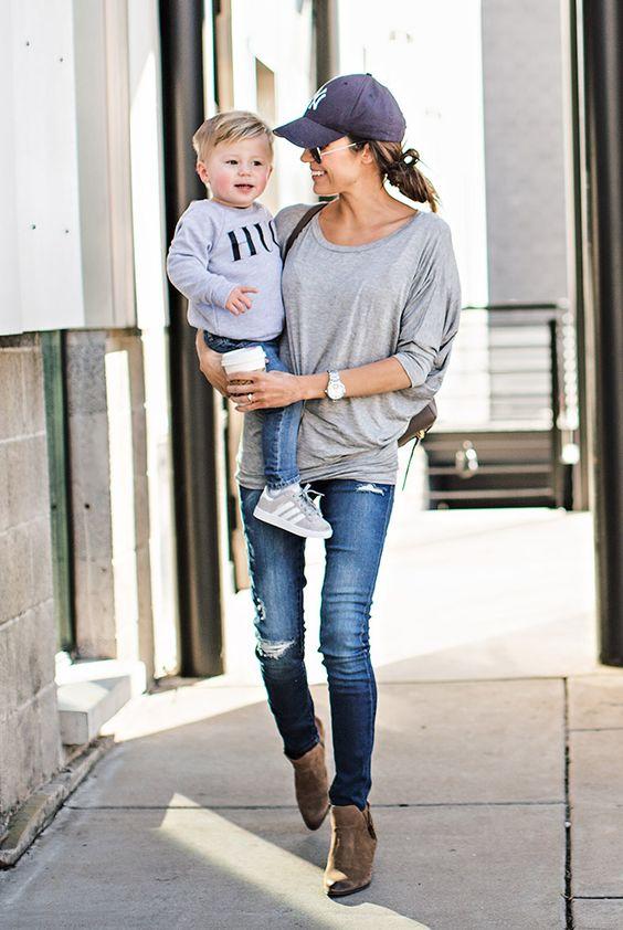 Looks para mamás con mucho estilo