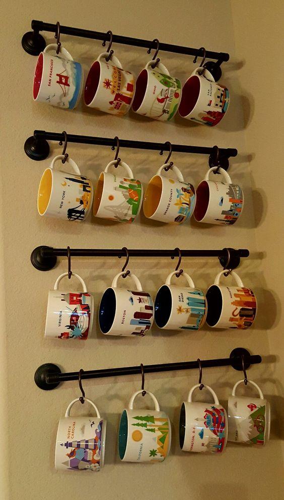Como organizar tazas de forma rápida