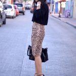 Outfit con Faldas Tipo Lápiz