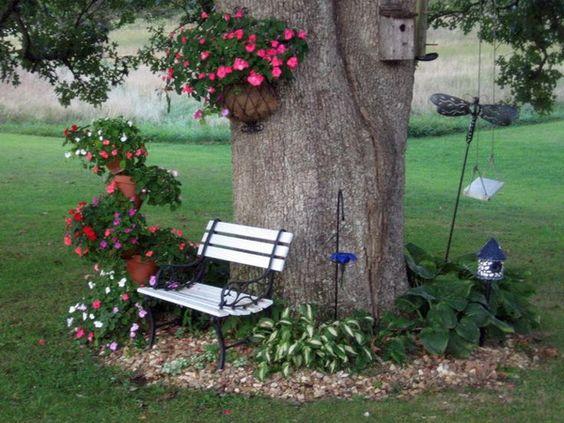 columpios de jardín para niños
