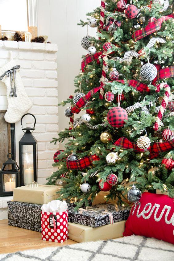 Arboles de navidad 2019 25 curso de organizacion del for Departamentos decorados para navidad