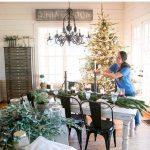 Centros de mesa navideños 2017-2018 sobre mesa