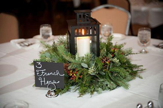 Centros de mesa navide os 2018 2018 f ciles de hacer y - Centros navidenos de mesa ...