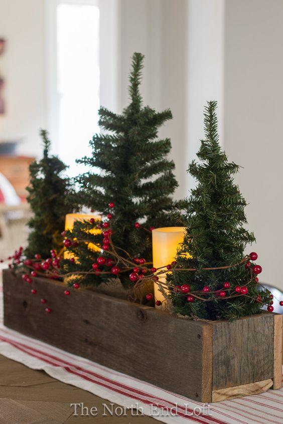 Centros de mesa navideños 2018 - 2019