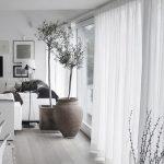 Cortinas para decoración de interiores