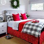 Decoraciones navideñas para tu hogar en color rojo recamara perfecta