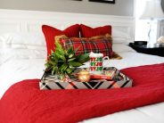 Decoraciones navideñas para tu hogar en color rojo