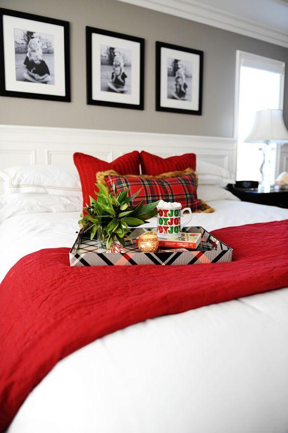 Decoraciones navide as para tu hogar en color rojo for Decoraciones para tu hogar