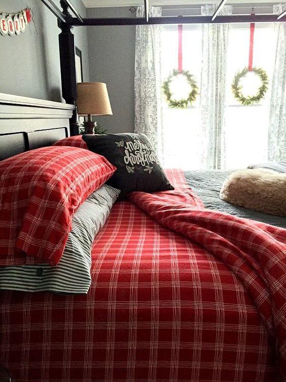 Decoraciones navide as para tu hogar en color rojo con for Decoraciones para tu hogar