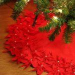 Decoraciones navideñas para tu hogar en color rojo pie de pino
