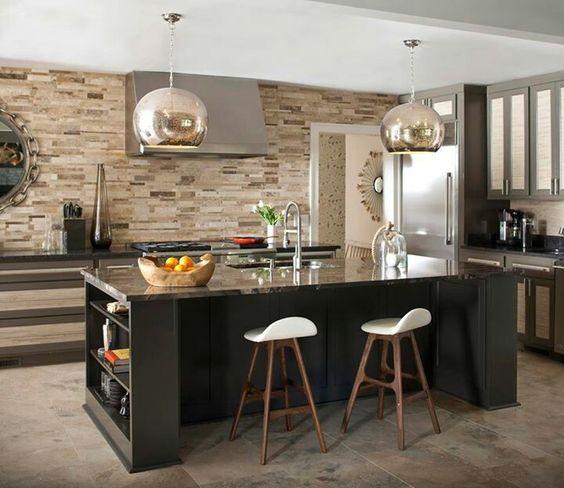 Desayunadores para cocinas for Modelos de cocinas modernas americanas