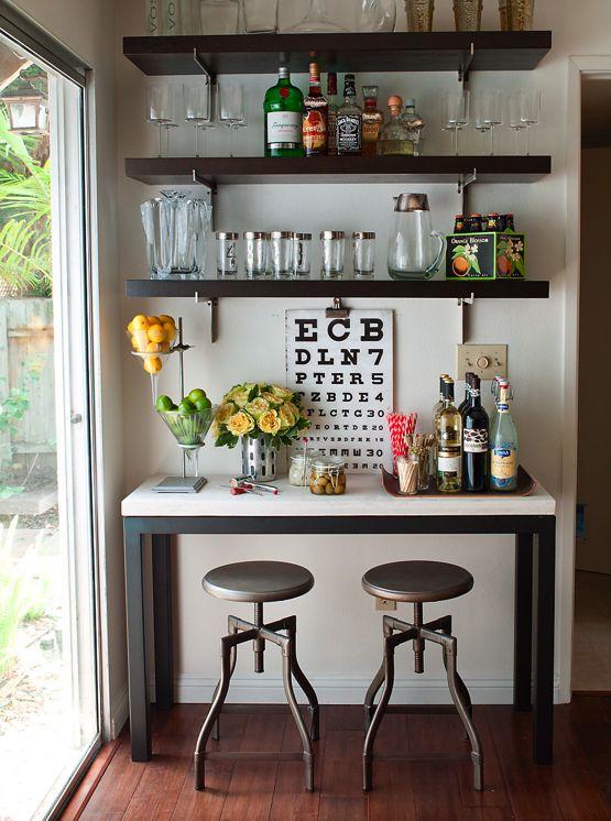 como hacer un bar en casa